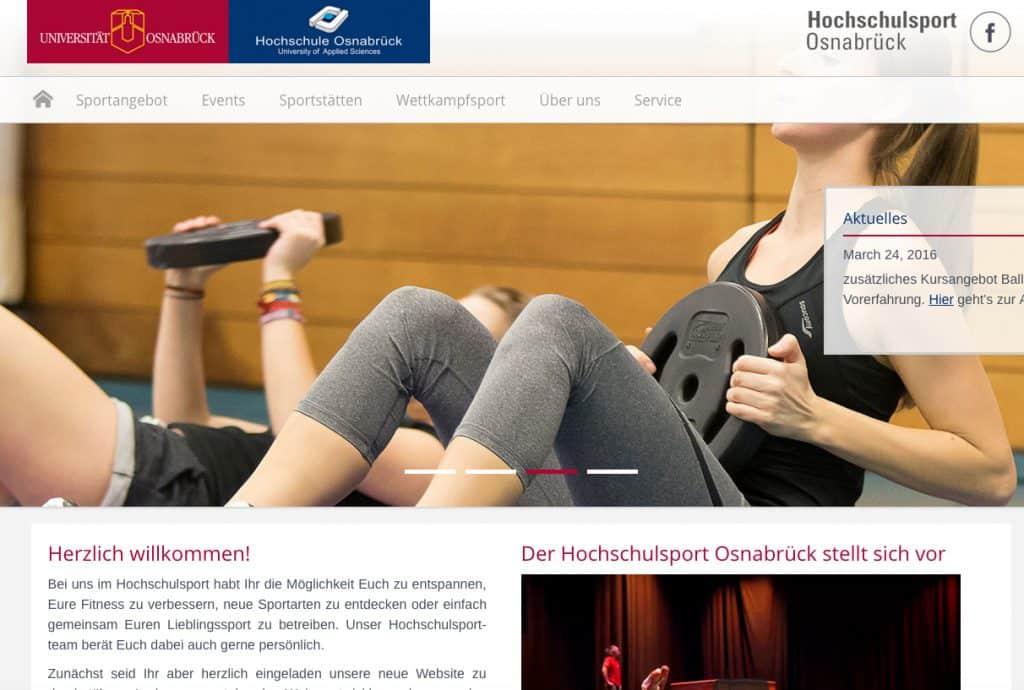 Zentrum für Hochschulsport & Hochschulsport Osnabrück